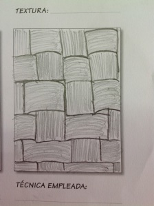 dibujando texturas